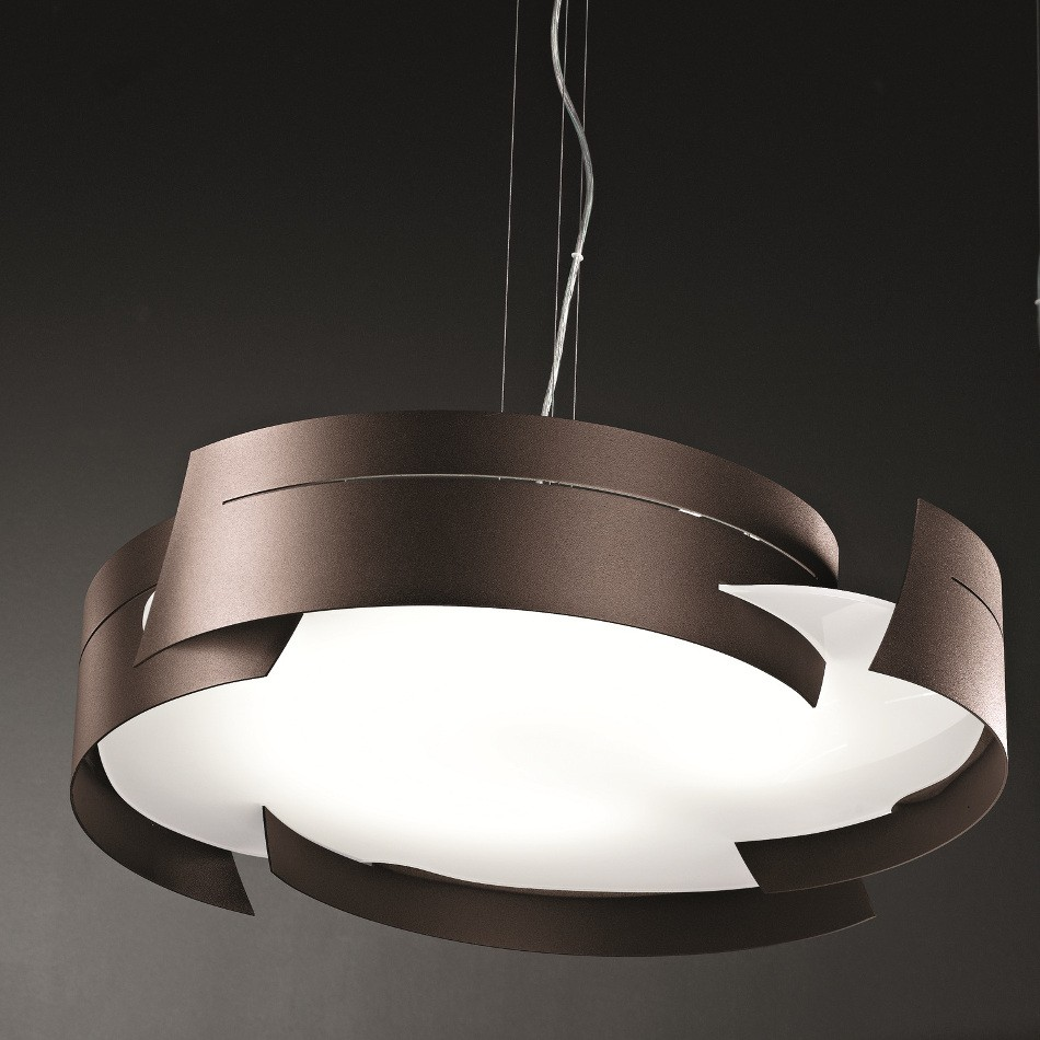 Vulture Suspension Lamp - Bronze 59.5cm