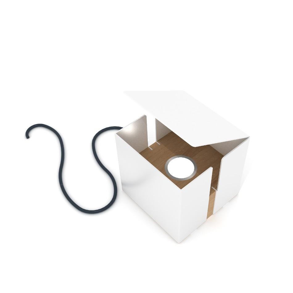 Lampada Box - Bianco
