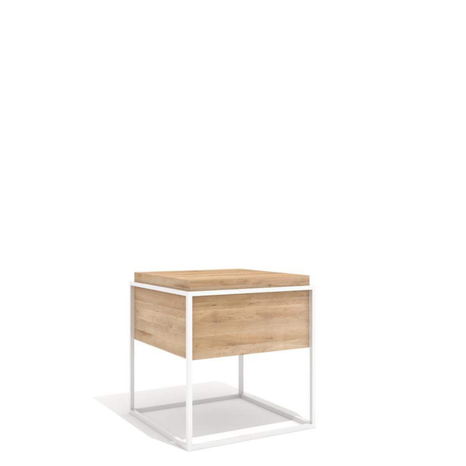 Tavolino Monolit Medium Bianco