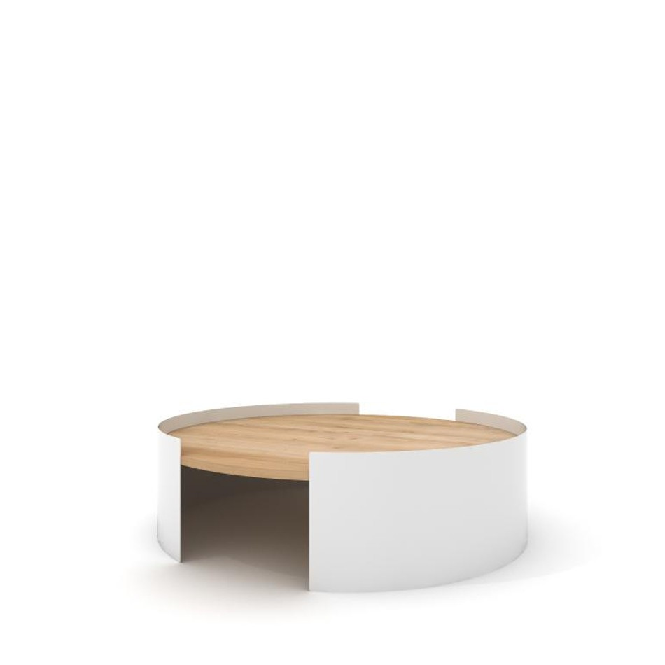 Tavolino Moon Table Large Bianco