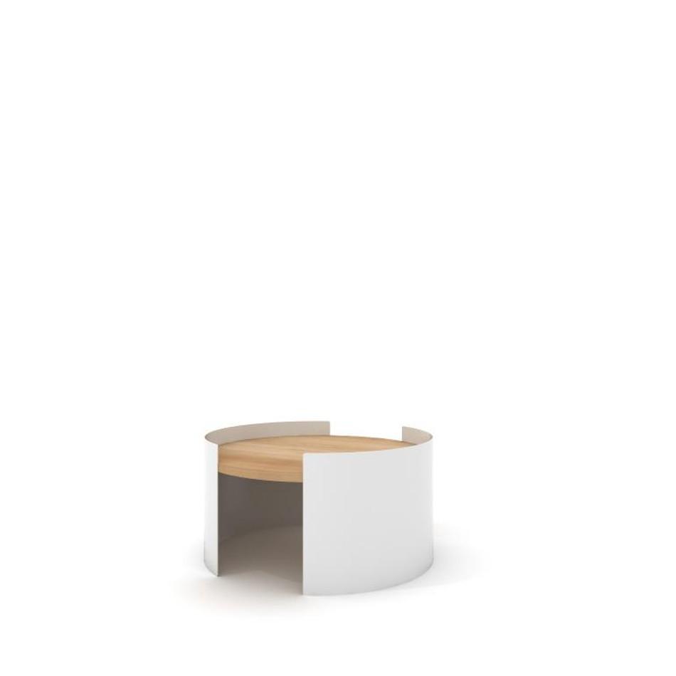 Tavolino Moon Small Bianco