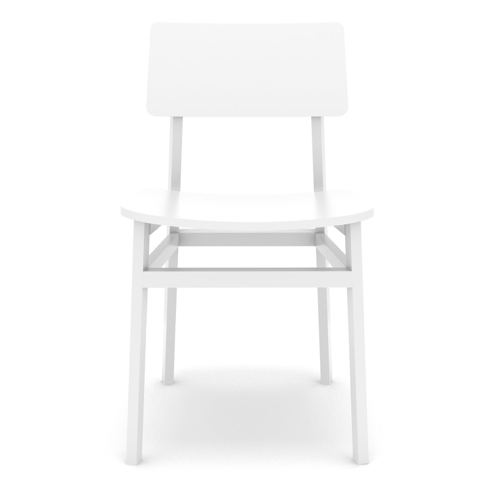 Sedia W-LY Bianco