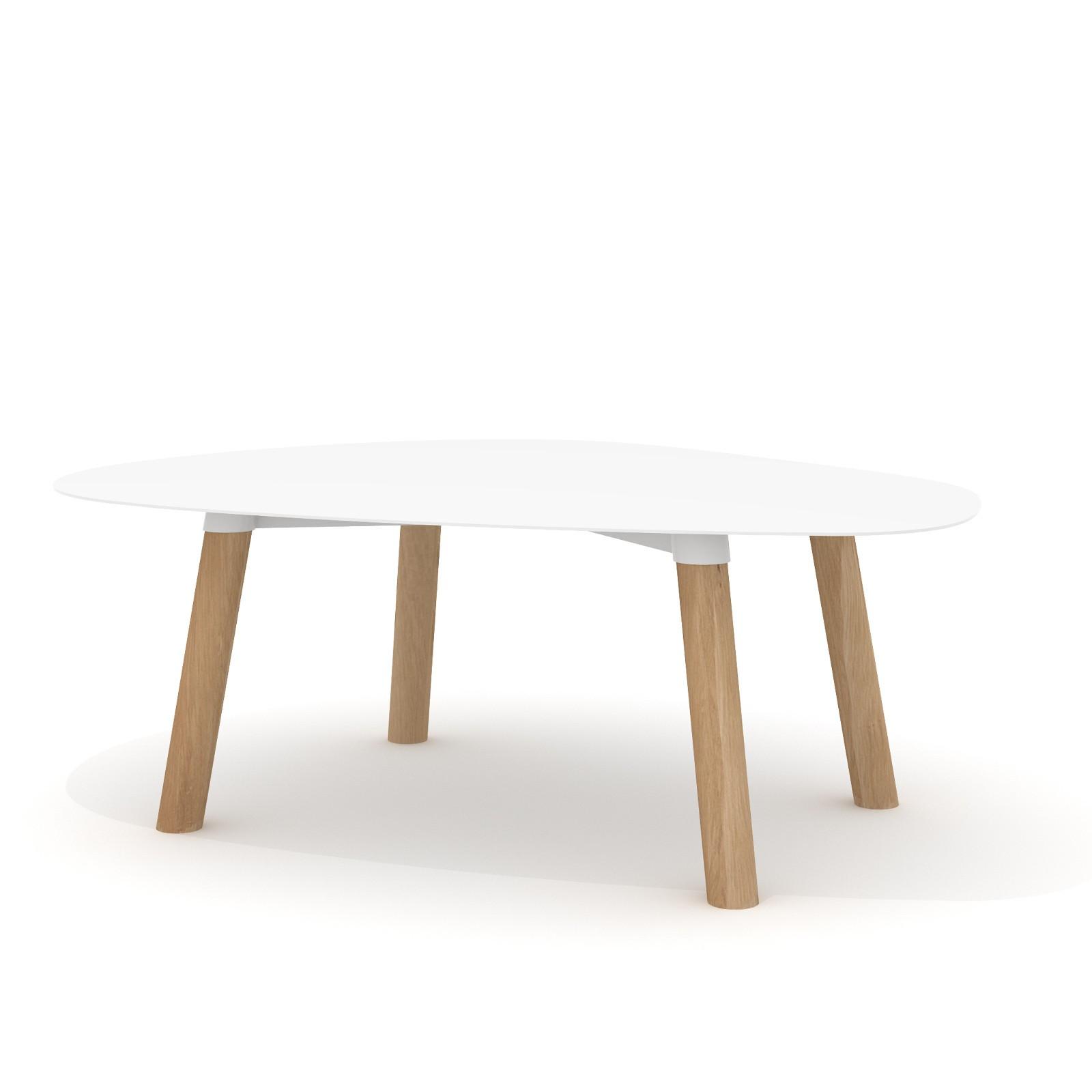 Tavolino Turtle 37 Bianco