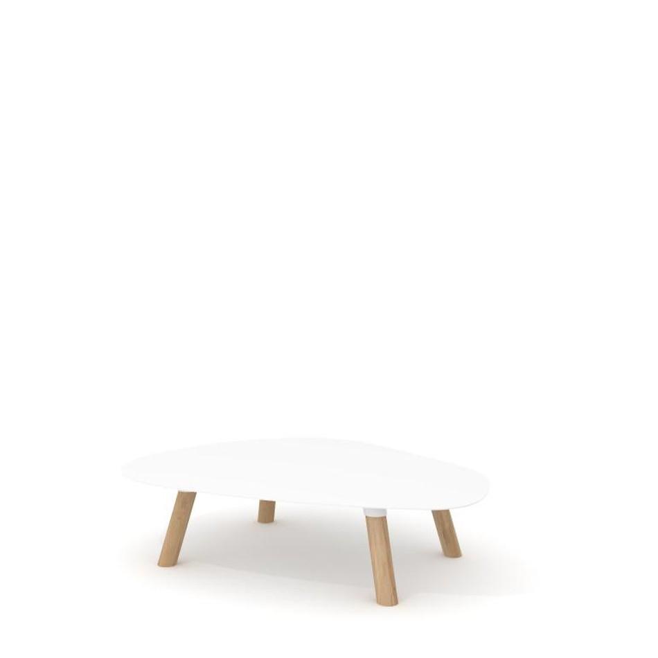 Tavolino Turtle Large Bianco
