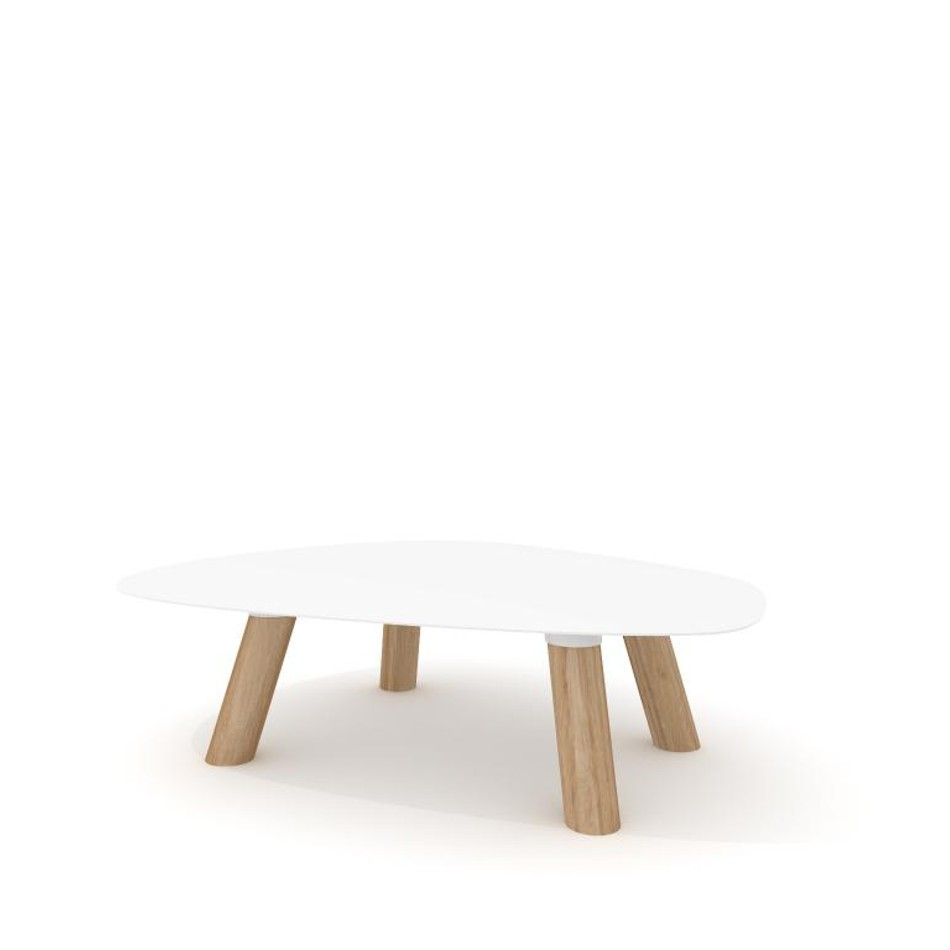 Tavolino Turtle Medium Bianco