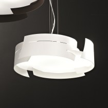 Vulture Suspension Lamp - White 47cm