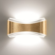 Ionica Wall Lamp - Gold leaf
