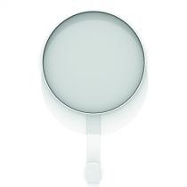 Specchio Kaschkasch Hook Bianco