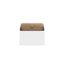 Pin Box Medium Bianco