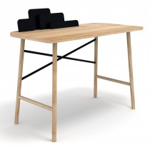 Scrivania Cloud Desk Nera by UNIVERSO POSITIVO