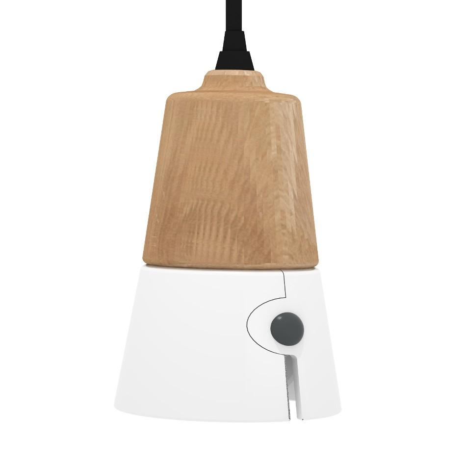 Sospensione Cone Corta - Bianco