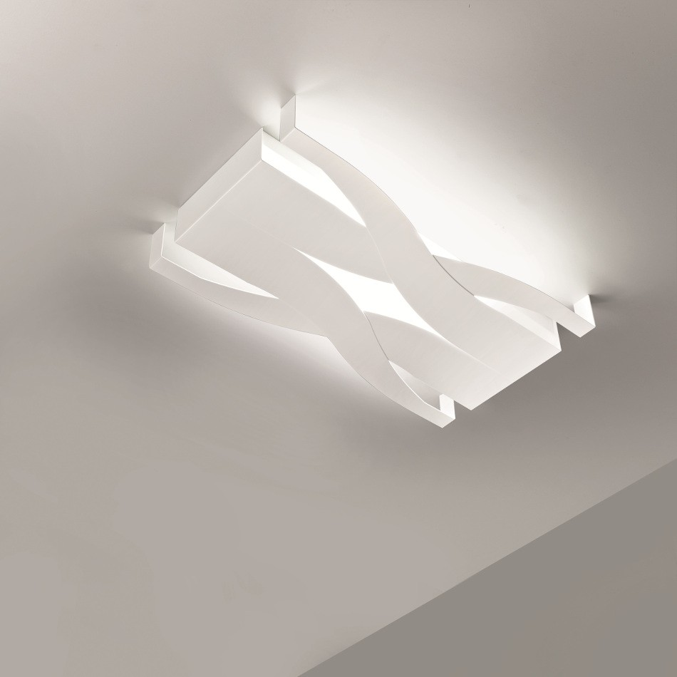 Fifì Ceiling Lamp - White 60x34cm