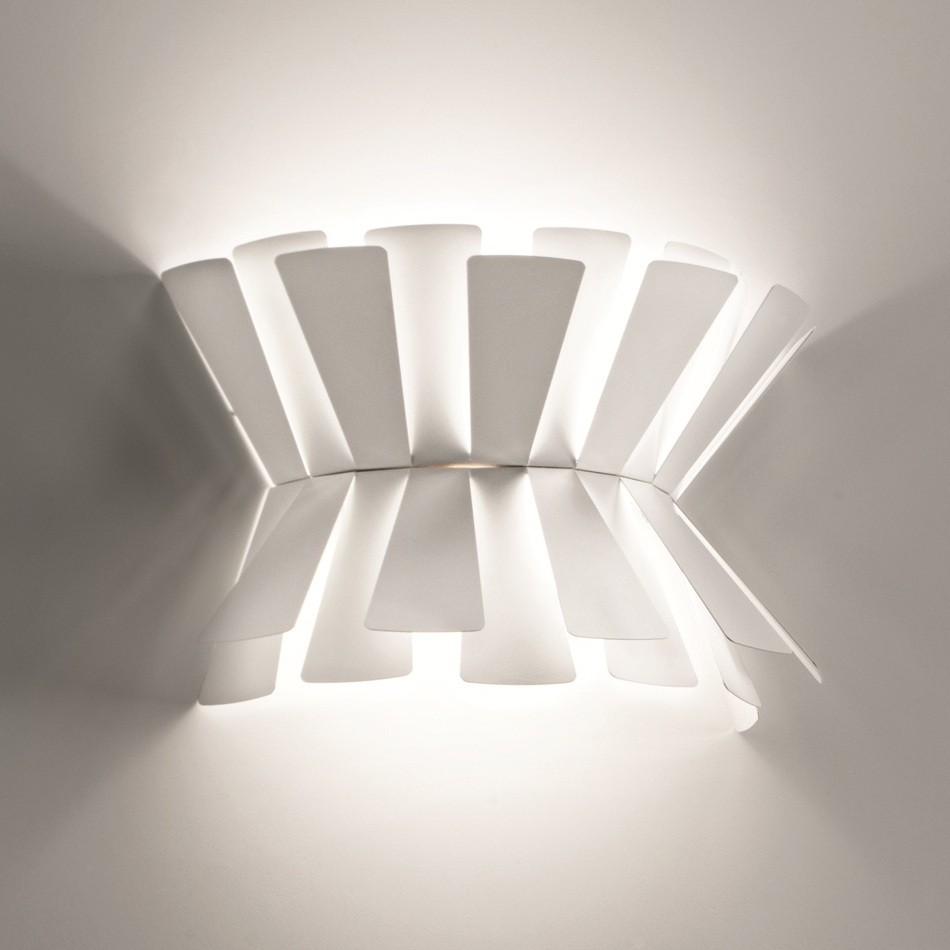 Elettra Wall Lamp - White 53cm