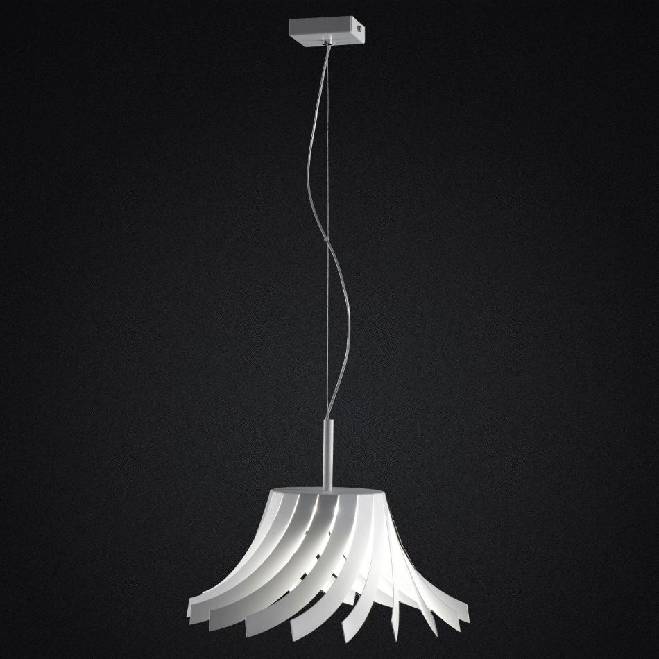 Panama Suspension Lamp - White 36cm