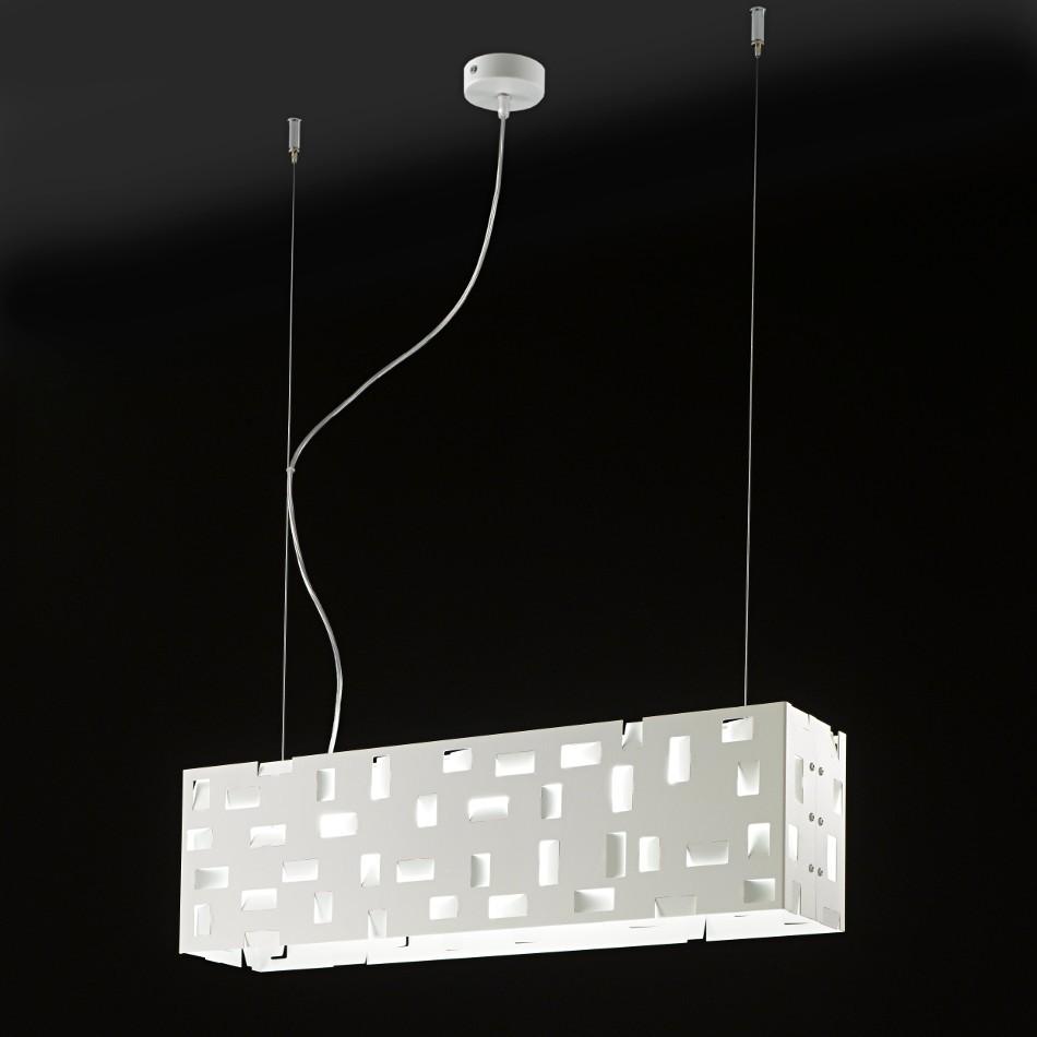 Berlino Est Suspension Lamp - White