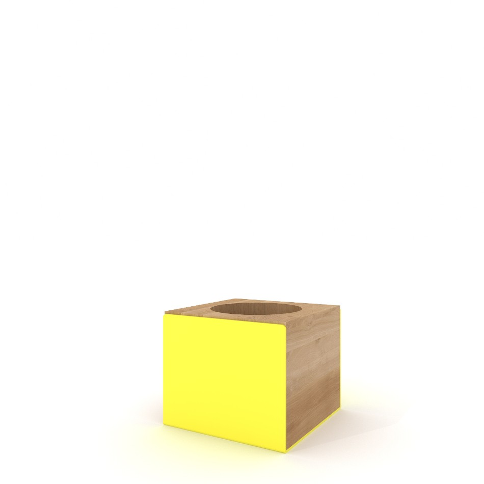 Pencil Holder Yellow
