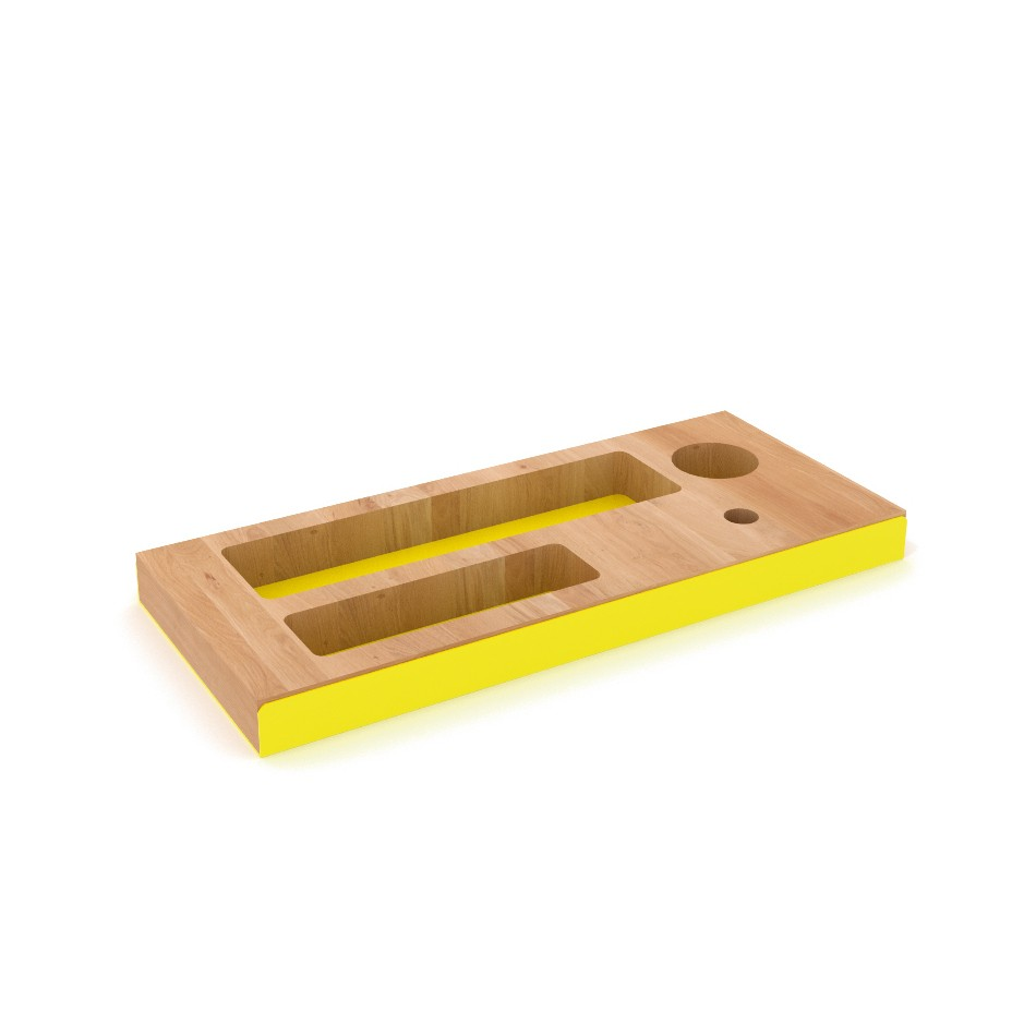 Pencil Tray Yellow