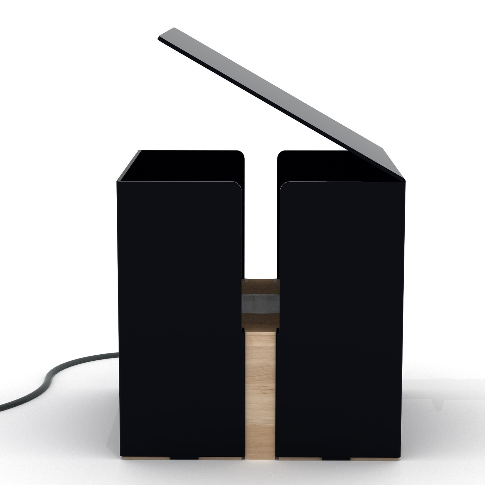 Box Lamp - Black