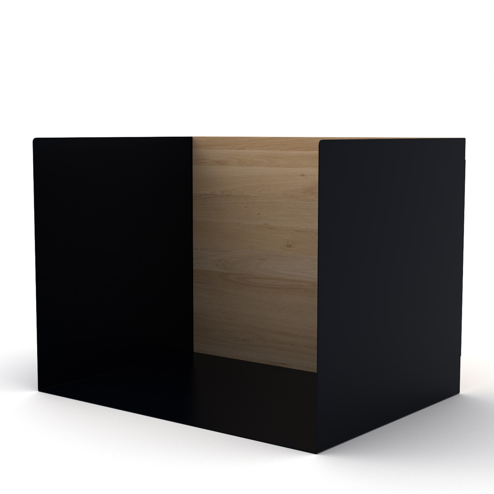 U Shelf Small Black