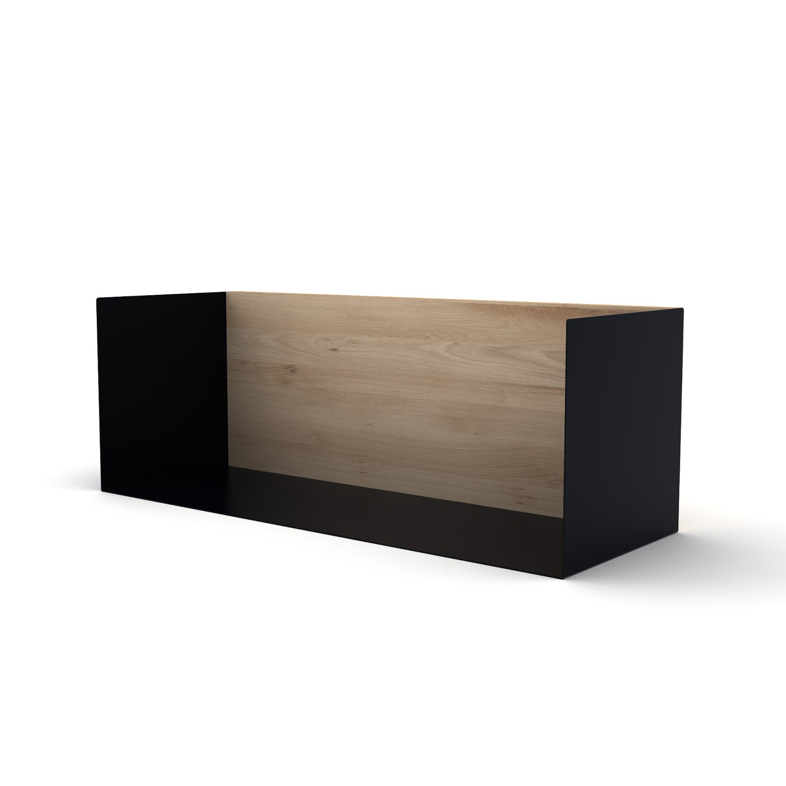 U Shelf Medium Black