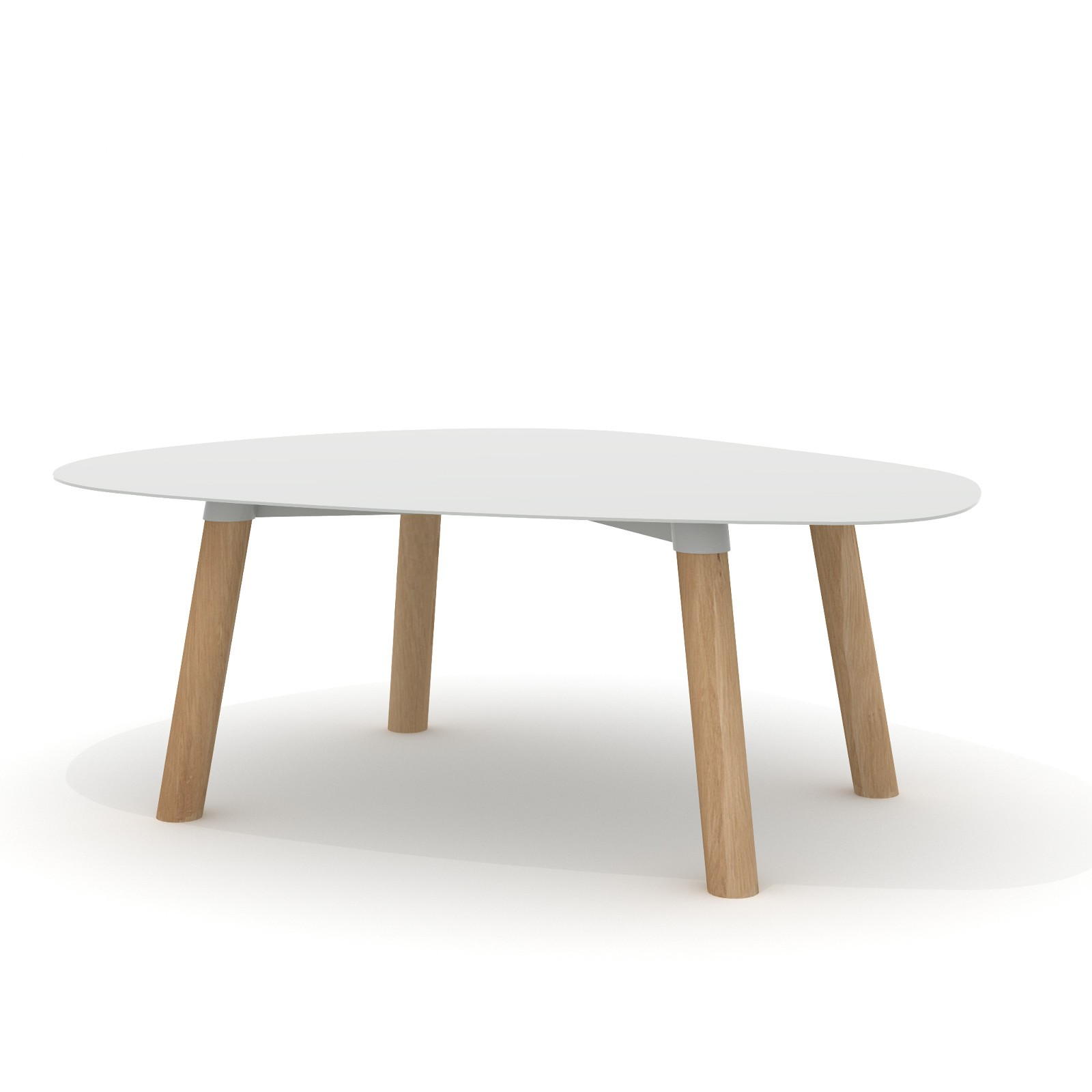 Turtle Table 37 Light Grey