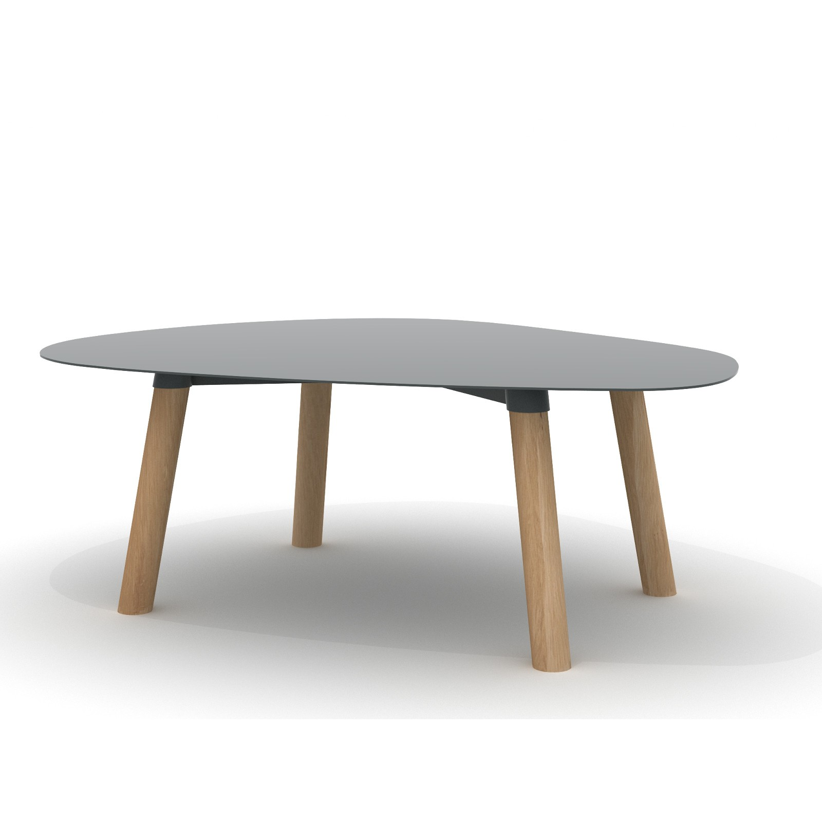 Turtle Table 37 Dark Grey