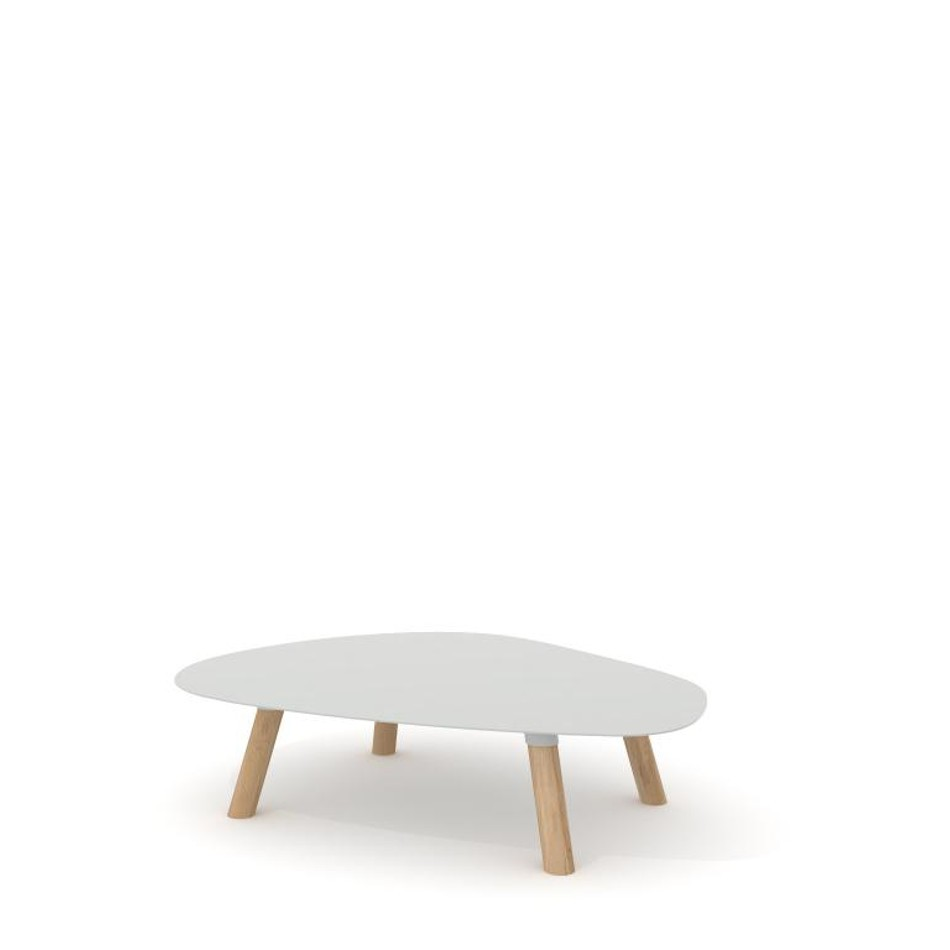 Turtle Table Large Agata Gray