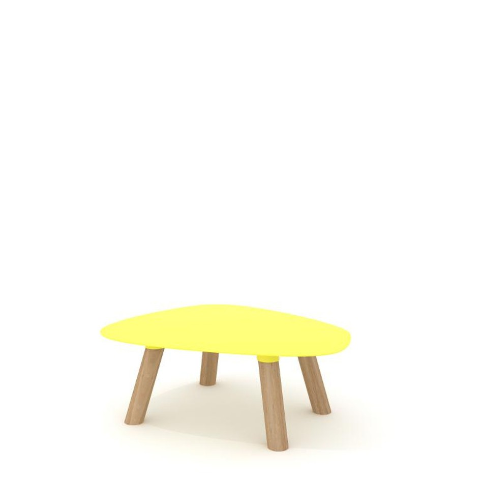Turtle Table Small Yellow