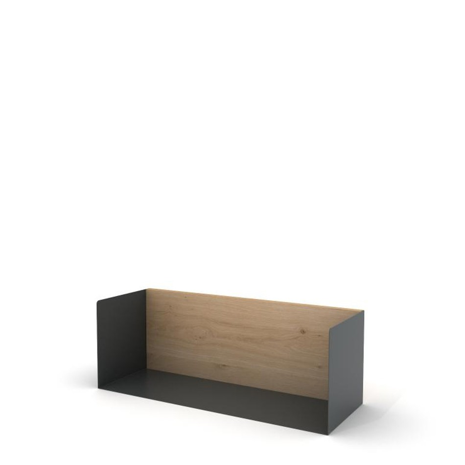 U Shelf Medium Traffic Gray