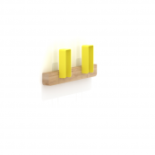 Merlin Small Coat Hanger Yellow