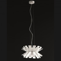 Elettra Suspension Lamp - White 40cm