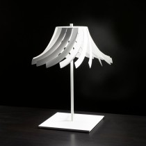 Panama Night Lamp - 36cm, White
