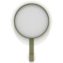 Kaschkasch Hook Mirror Khaki