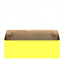 Pin Box Large Yellow