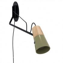 Cone Wall Lamp - Khaki
