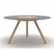 Sputnik Coffee Table Black
