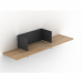 Clip Shelf Medium Traffic Gray